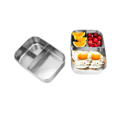 Stainless Steel Bento Lunch Box Case Food Containers for Ourdoor Picnic Storag E