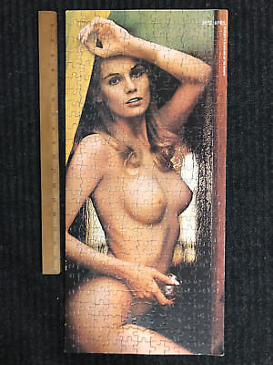 Vintage Playboy Playmate Puzzle Miss April 1972 Vicki Peters from Minneapolis