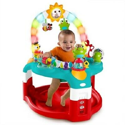 Baby Saucer Mat Seat Stand Play Toy Activity Gym Chair Infant Child Home Support