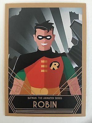 Batman: The Animated Series - Robin Promo Trading Card - Sdcc Exclusive