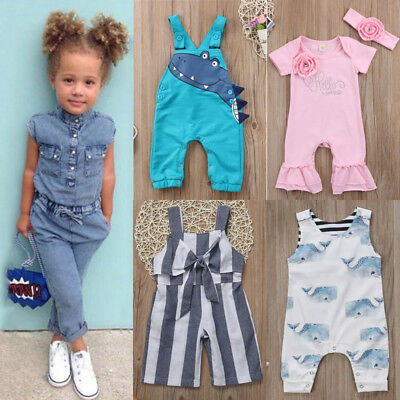 Canis Newborn Kids Baby Boys Girls Romper Bodysuit Jumpsuit Outfits Clothes Hot