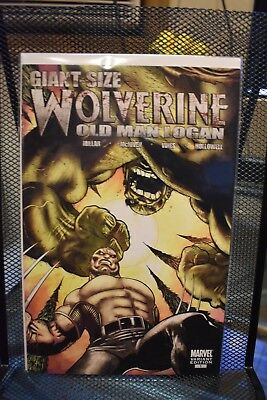 Wolverine Old Man Logan Giant Size #1 Ed McGuinness Variant Marvel Comics 8.5