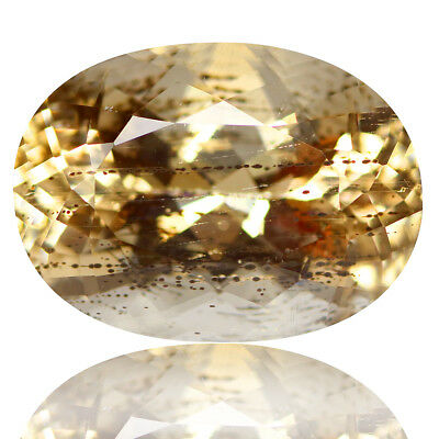 11.35 Ct Attractive Rare Unheated Best Lustrous Yellow Scopalite