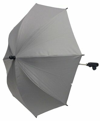 For-Your-Little-One Parasol Compatible with Mothercare Twin Hoxton, Grey
