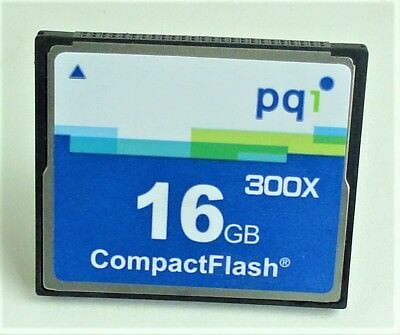 CF-Karte 16 GB pq1 Hi-Speed 300 CompactFlash 300x  CF300X16GB