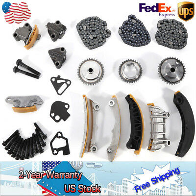 Timing Chain Kit 9-0753S For Cadillac Chevrolet Buick Pontiac 3.6L 3.0L 07-15