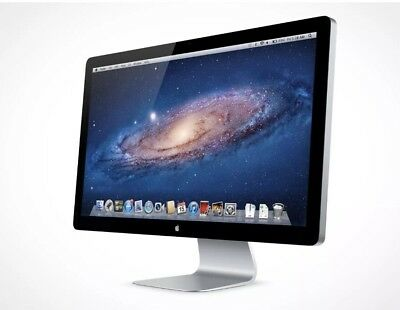 "Apple 27"" Cinema Display Mini Display Port Monitor. Compatible Thunderbolt 2."