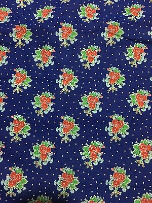 Lovely Floral Vintage Fabric