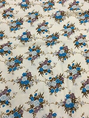 Great Floral Vintage Fabric