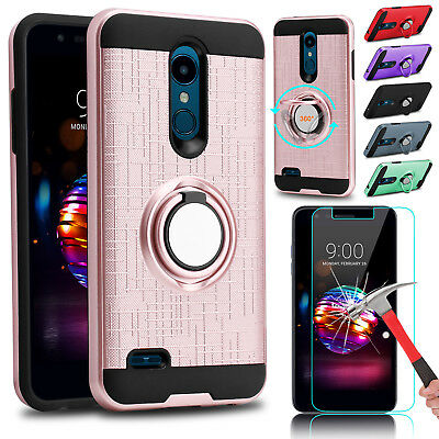 For LG K30 /Xpression Plus/ Phoenix Plus Hybrid Case Cover Skin Screen Protector