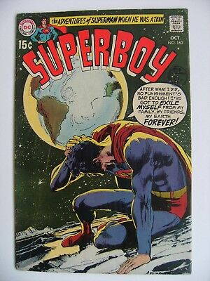 SUPERBOY no. 160 DC comics Silver Age Neal Adams cover