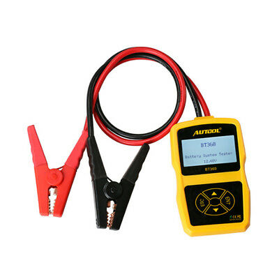 AUTOOL BT-360 Car Cranking Test Charging Battery System Tester CCA 100-1400 HC
