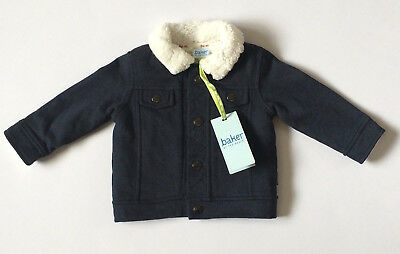 Ted Baker Baby Boys Shearling Jacket 6-9 Months BNWT