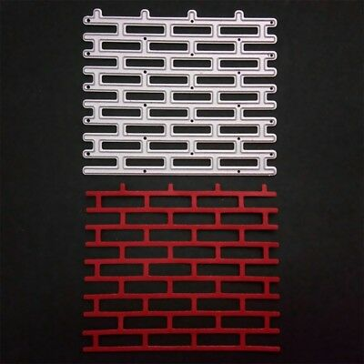 1X Wall Background Metal Cutting Dies Stencil Scrapbooking Card Embossing Craft