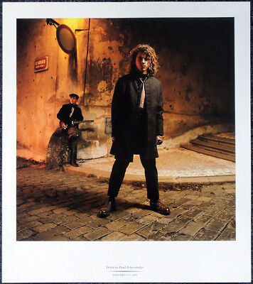 Inxs Michael Hutchence Poster Page . Kick Need You Tonight Suicide Blonde . T93