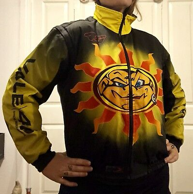 Vintage Collectors Valentino Rossi Sun & Moon Bomber Jacket Early 2000s RARE