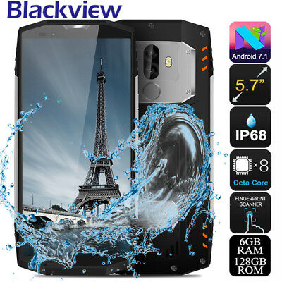 FACE ID 5.7' 18:9 FHD+ 128GB Téléphone Mobile Blackview BV9000 Pro NFC IP68 2SIM