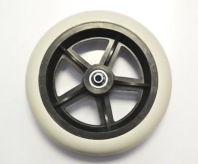 """8"""" Front Castor Wheel for Invacare Rea Azalea, Clematis and Dahlia Wheelchairs"""