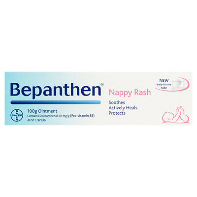 NEW Bepanthen Nappy Rash Ointment Ointment Nappy Rash 100g Baby Care Skin Care