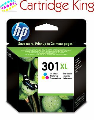 Genuine HP 301XL Colour ink cartridge for Deskjet 3055A e-All-in-One Printer CH5