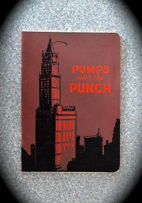 VINTAGE PUMPS with the PUNCH book. The Ahrens-Fox Fire Engine Company. -mint