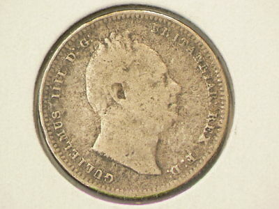 1836 Great Britain Shilling KM#713 Silver  #1232