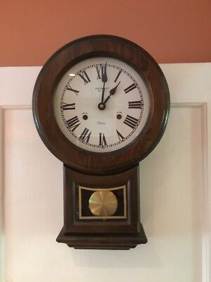 Wall Mounted Pendulum Chime Clock