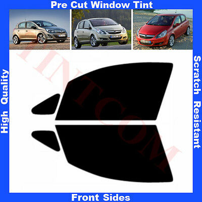 Pre Cut Window Tint Opel Corsa D 5 Doors Hatchback 2007-... Front Sides AnyShade