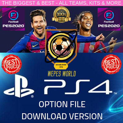 Pes 2020 Pre Order Option File Ps4 Wepes World - Launch Day Exclusive!!