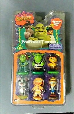 Shrek Fairytale Friends Collectables New in Package