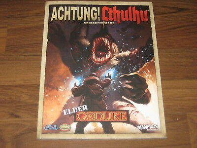 Achtung! Cthulhu Elder Godlike Crossover SC Modiphius Entertainment Neu New