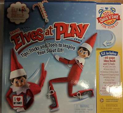 1x Elf On The Shelf - The Scout Elves At Play Kit ~ SLIGHTLY MARKED BOX ~