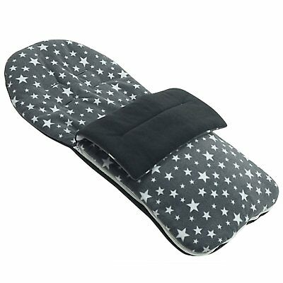 Fleece Footmuff Compatible with Graco Expedition - Grey Star