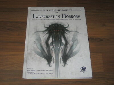 Call Of Cthulhu S. Petersen's Field Guide to Lovecraftian Horrors Chaosium New
