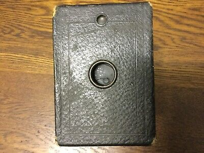 EASTMAN KODAK CO ANTIQUE HAWKEYE No2 BOX BROWNIE Vintage Camera - early 1900's