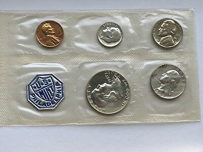 1957 US Silver Proof Set Flat Pack