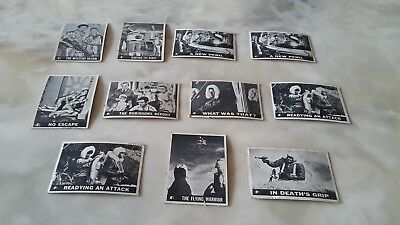 1966 Lost In Space Cards (11). Fair Condition.