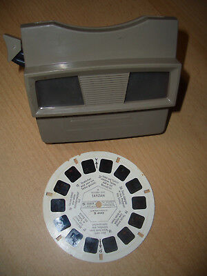 View Master-  Made in Belgium -  Scheibe Tarzan