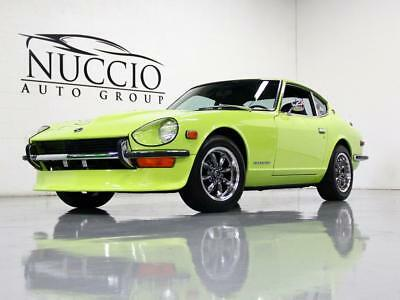 1972 Datsun Z-Series 240Z 72 240Z - Lime/Black - Restored to original color! Upgraded Headers and Exhaust!