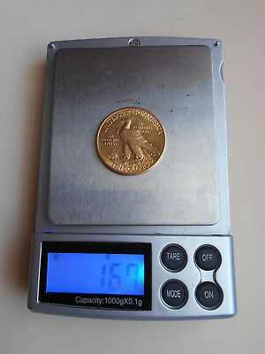 USA 1915 Gold Eagle ($10) Indian Head Gold Magnificent Coin