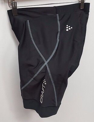 NEW Craft Women's Active Bike Short Black Large Cycling 8""