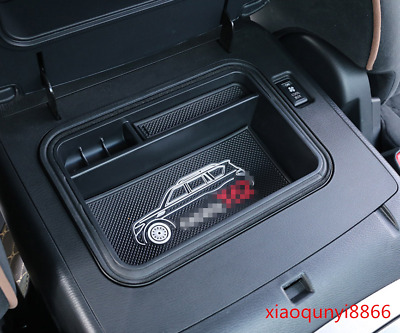 For Nissan Patrol Y62 2012-2018 ABS Inner Armrest Console Central Storage Box