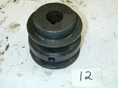 Briggs & Stratton 5HP 100202 Engine OEM - Double Pulley