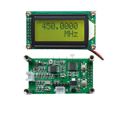 9V-12V 1MHz-1.1GHz Frequency Counter Tester Measurement For Ham Radio PLJ-0802-F