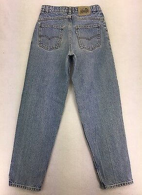 USA Levis Silvertab Loose Fit Tapered High Waist Rise Jeans Student 28x30 #0498