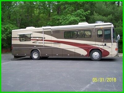2002 Country Coach Intrigue 530,Class A,Diesel,Cummins,37',3 Slides,Sleeps 4