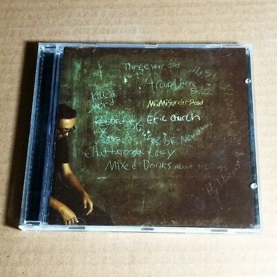 Eric Church - Mr. Misunderstood 2015 USA CD MINT #AH02*