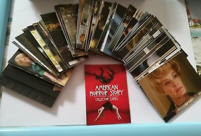 American Horror Story: Complete Base set 72 Cards.