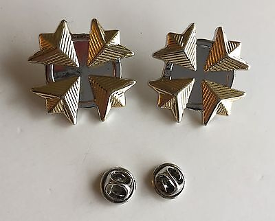 Star Trek Movie Era Admiral Rank Pins (Uniform Set of 2)