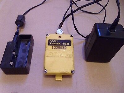 AMB TranX 160 Transponder and Charger